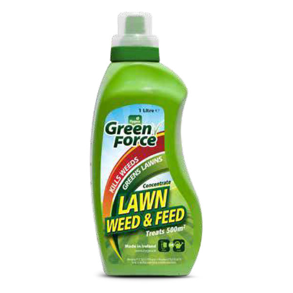 lawn weed & feed