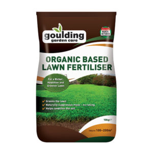 GOULDING Organic Based Lawn Fertiliser